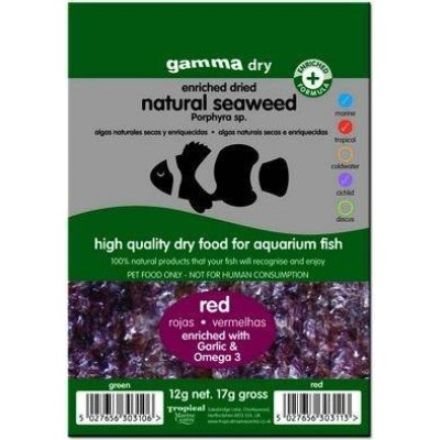 Gamma Red Dried Seaweed 12g