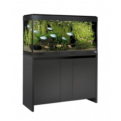 Fluval Roma 200 LED Tank and Cabinet in Black