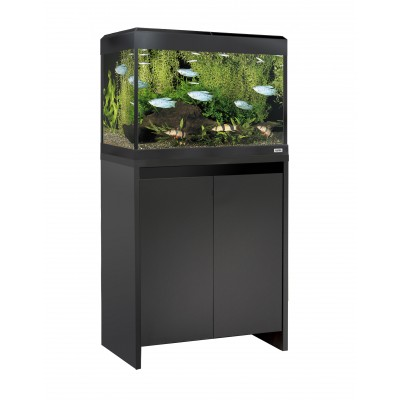 Fluval Roma 90 LED Tank and Cabinet in Black