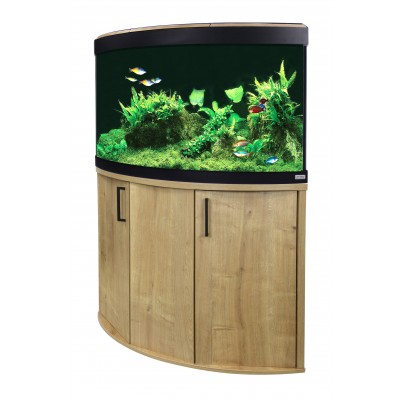 Fluval Venezia 190 LED Aquarium and Cabinet in Oak