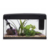 Marina Premium 54 Tropical Aquarium Set in Black