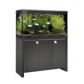 Fluval Roma 200 Tank and Cabinet in Black