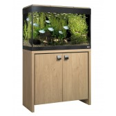 Fluval Roma 125 Tank and Cabinet in Oak