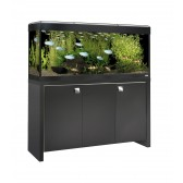Fluval Roma 240 Tank and Cabinet in Black