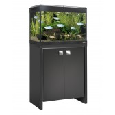 Fluval Roma 90 Tank and Cabinet in Black