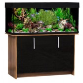 Aqua One AquaVogue 245 Tank & Cabinet Walnut & Black