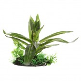 Fluval Giant Sagittaia Artificial Plant with Base 10cm