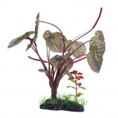 Fluval Red Lotus Artificial Plant with Base 25cm