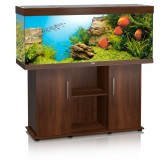 Juwel Rio 400 Aquarium and Cabinet in Dark Wood
