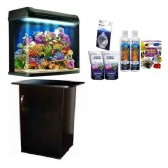 Kent Marine Bio Reef 94L Aquarium and Cabinet with FREE STARTER KIT and FREE MARINE BOOK