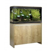 Fluval Roma 200 LED Tank and Cabinet in Oak