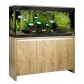 Fluval Roma 240 LED Tank and Cabinet in Oak