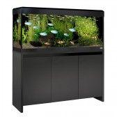 Fluval Roma 240 LED Tank and Cabinet in Black
