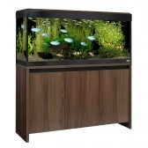 BLACK FRDAY SPECIAL 1 ONLY - Fluval Roma 240 LED Tank & Cabinet Walnut