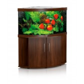 Juwel Trigon 350 Aquarium and Cabinet in Dark Wood