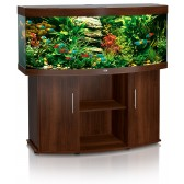 Juwel Vision 450 Aquarium and Cabinet in Dark Wood