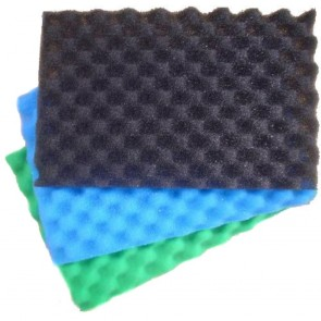 "Kockney Koi 3 Foam Filter Sponge Set (11 x 17"")"