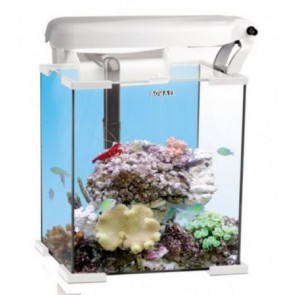 Aquael Nano Reef Aquarium 30 Litre in White