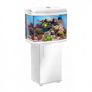 Aquael Reef Master 60 Aquarium and Cabinet in White