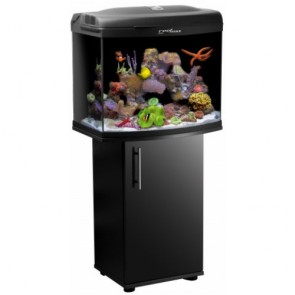 Aquael Reef Master 60 Aquarium and Cabinet in Black