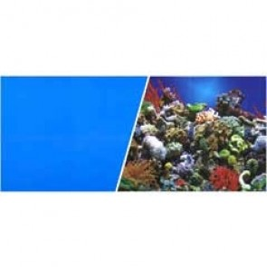 "Marina Aquarium Background Reef / Blue 18"" per ft"