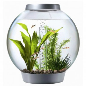 Biorb 60 Litre Silver with LED Light