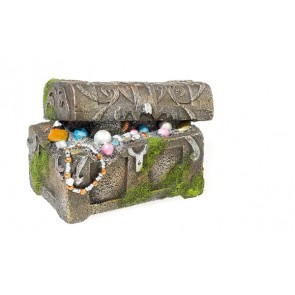Classic Treasure Chest Aquarium Ornament