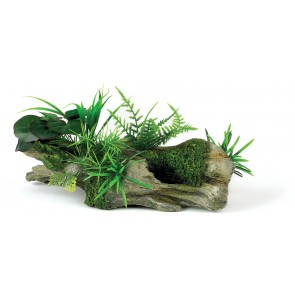 Classic Wood Garden Aquarium Ornament