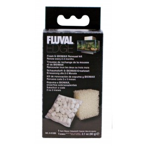 Fluval Edge Foam Biomax Kit