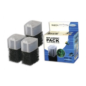 Hailea Filter Sponge and Carbon Media Set 3 Pack for BT200 Filters