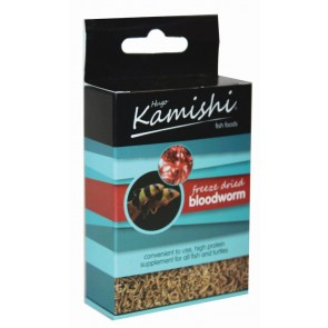 Hugo Kamishi Freeze Dried Bloodworm 5g