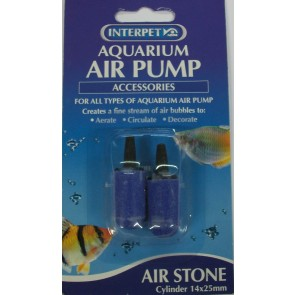 Interpet Cylinder Airstones 14 x 25mm (2 pack)