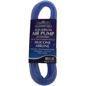 Interpet Silicone Blue Airline 200cm / 78""