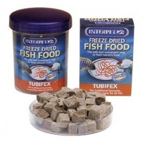 Interpet Tubifex 5g Freeze Dried Food