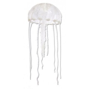 Fish R Fun Jellyfish Aquarium Ornament in Clear 10cm
