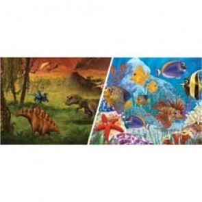 "Marina Aquarium Background Dinousaur / Marine 12"" per ft"