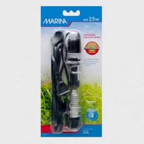 Marina Mini Submersible Aquarium Heater 25W