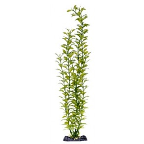 "Penn Plax Blooming Ludwigia Green 18"" Artificial Plant with base"