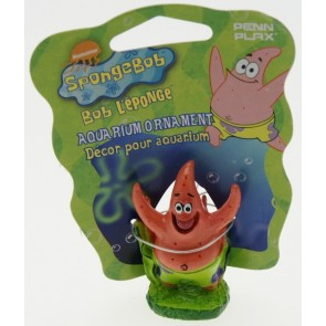 Penn Plax - Sponge Bob Square Pants Mini Patrick  Ornament