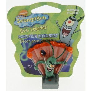 Penn Plax - Sponge Bob Square Pants Mini Plankton Ornament