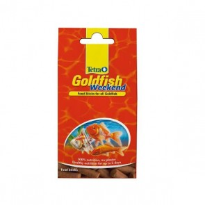 Tetra Goldfish Weekend Sticks - 10 sticks / 9g