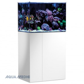 Aqua Medic Armatus 250 Aquarium in High Gloss White