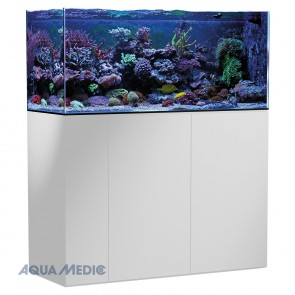 Aqua Medic Armatus 400 Aquarium in High Gloss White
