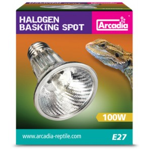 Arcadia 100w Halogen Basking Spotlight