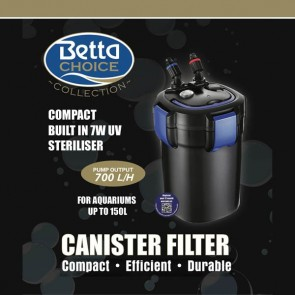 Betta Choice 700 U.V Canister