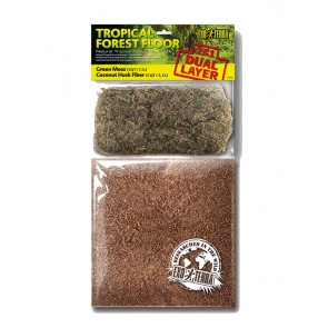 Exo Terra Tropical Forest Duel Layer Substrate Large