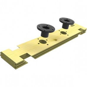"""1403mm Octagonal Treated Filtration Plank With 1.5"""" Holes"""