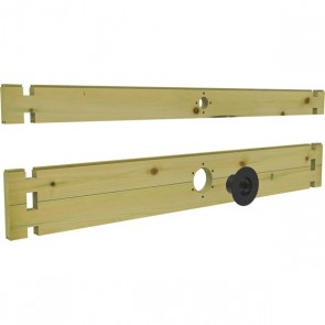 """900mm Treated Filtration Pack With 1.5"""" & 4"""" Holes"""