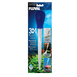 Fluval 3-in-1 Waste Remover/Feeder Small 11""