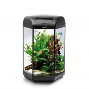Aquael 60 litre Hexagon Aquarium
